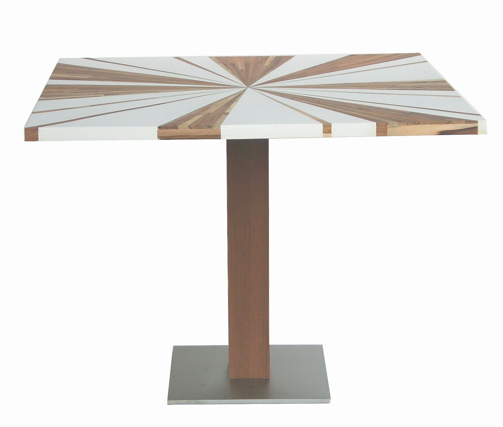 Dining table touchable for Table cuisine 75 x 75